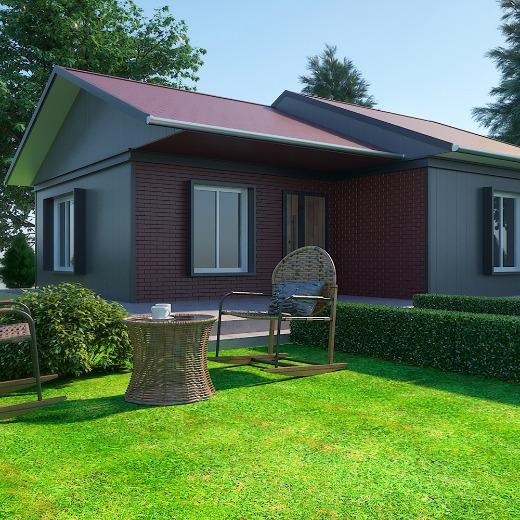 61 M2 Prefabrik Yapı / 61 M2 Prefabricated House