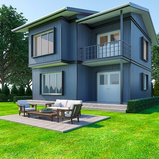 91 M2 Prefabrik Yapı // 91 M2 Prefabricated House
